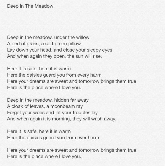 the meadow mouse by theodore roethke summary