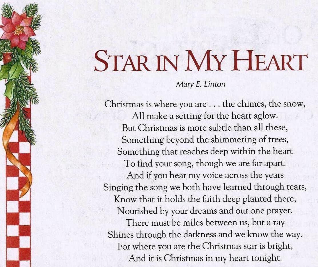 Christmas From Heaven.Merry Christmas From Heaven Poem Printable