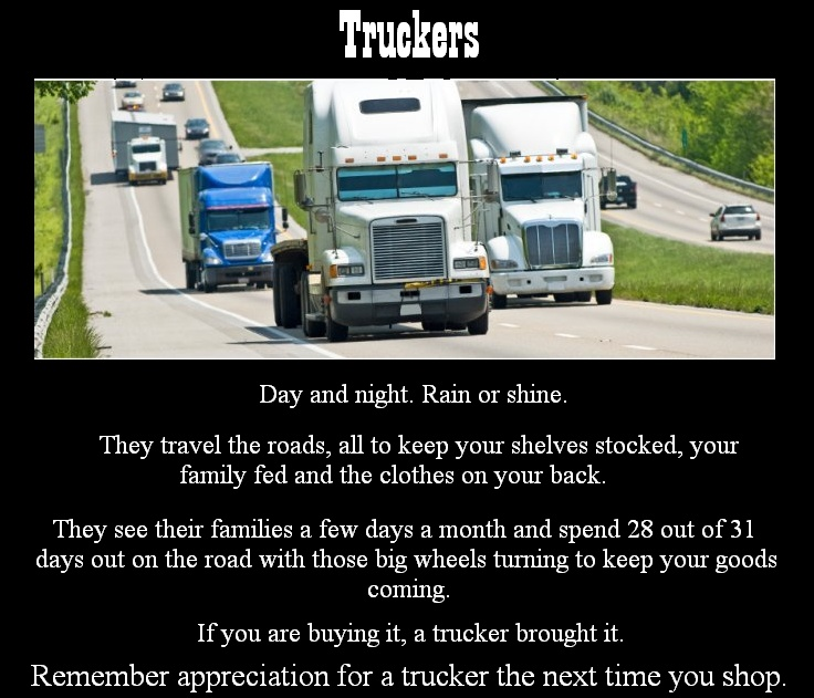 Truck Driver Poems
