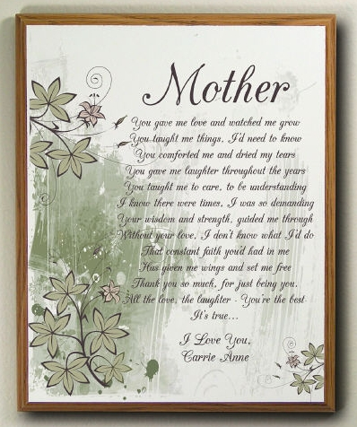 Mother s day christian Poems