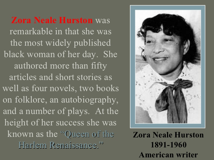 meaning symbolism imagery writings zora neale hurston Zora neale hurston celebrated primarily for her creative literary endeavors and vibrant personality as one of the central figures of the harlem renaissance, zora neale hurston's work as an anthropologist tends to be overshadowed by her work as a novelist, journalist and playwright.