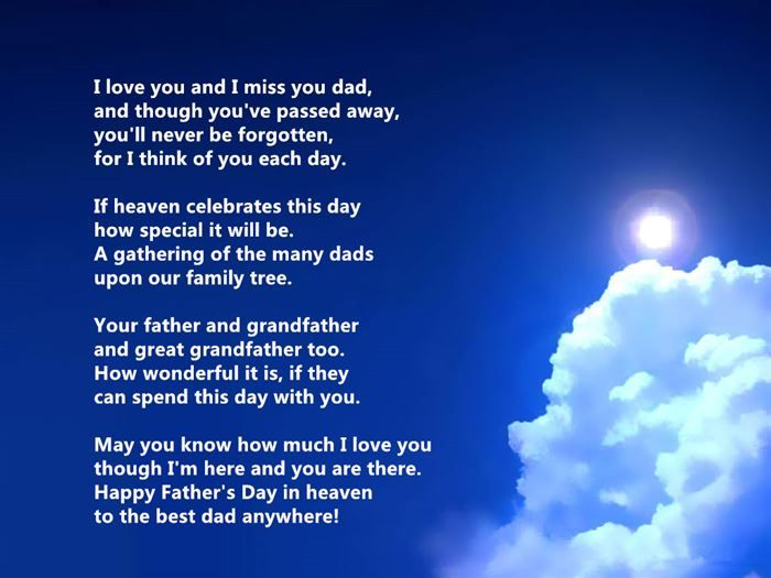 Fathers Day Short Poems