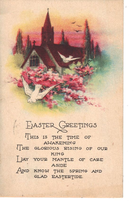 Easter welcome Poems