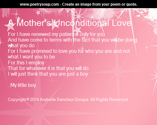 Unconditional Love Poems