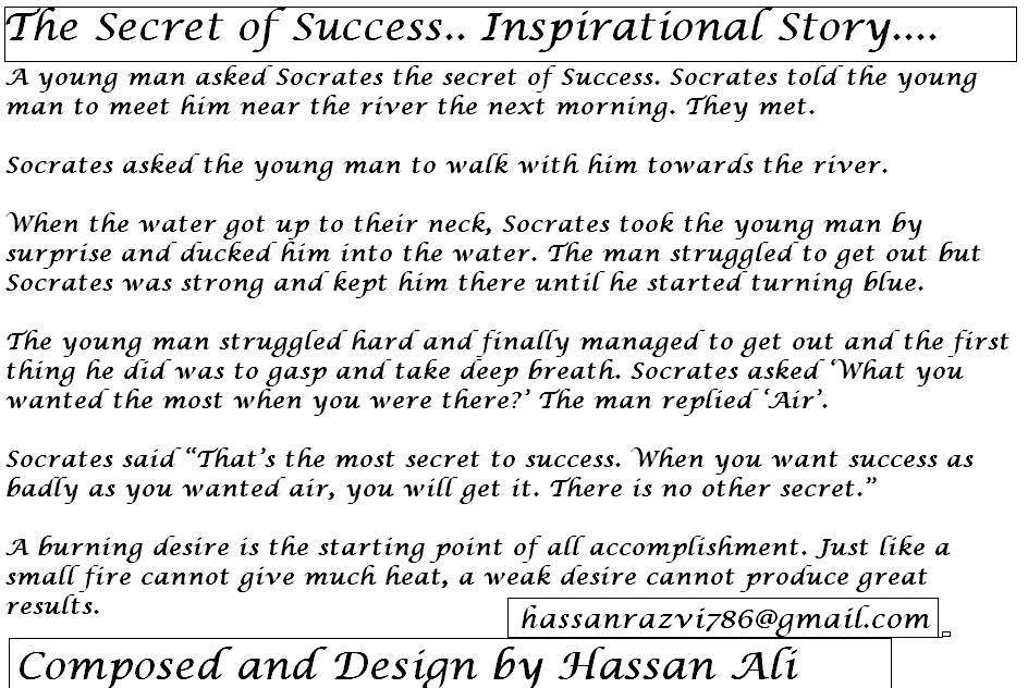 Inspirational stories Poems