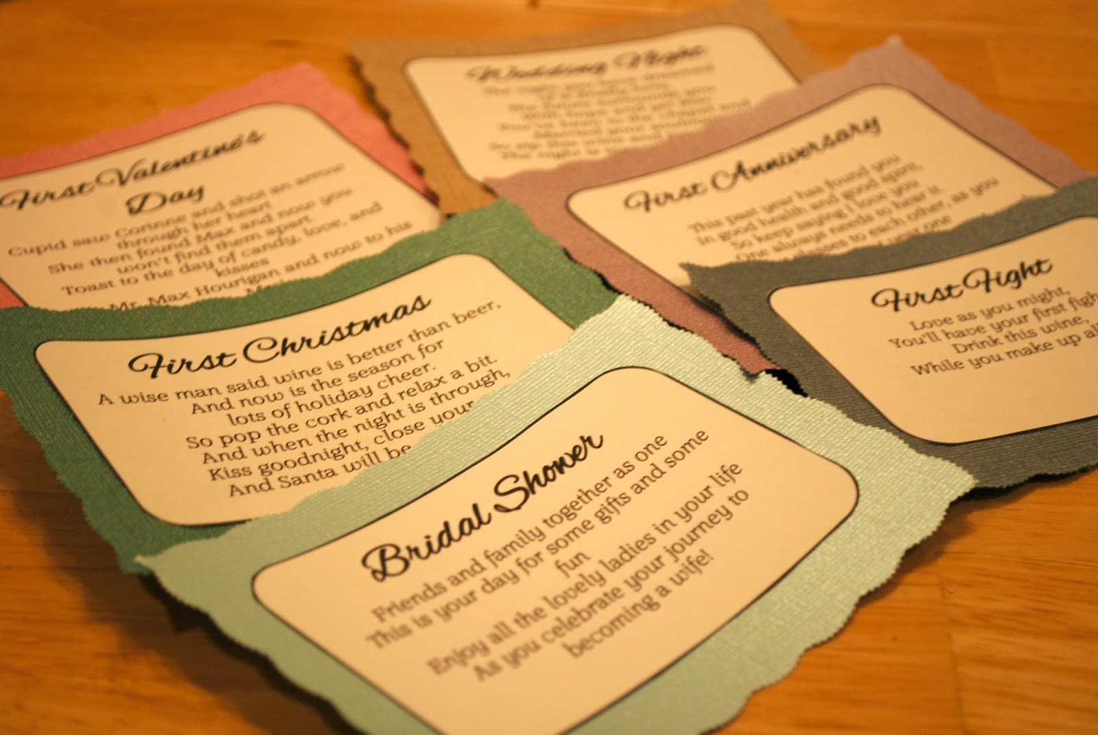graphic about Printable Wine Tags for Bridal Shower Gift named Wine bottle Poems