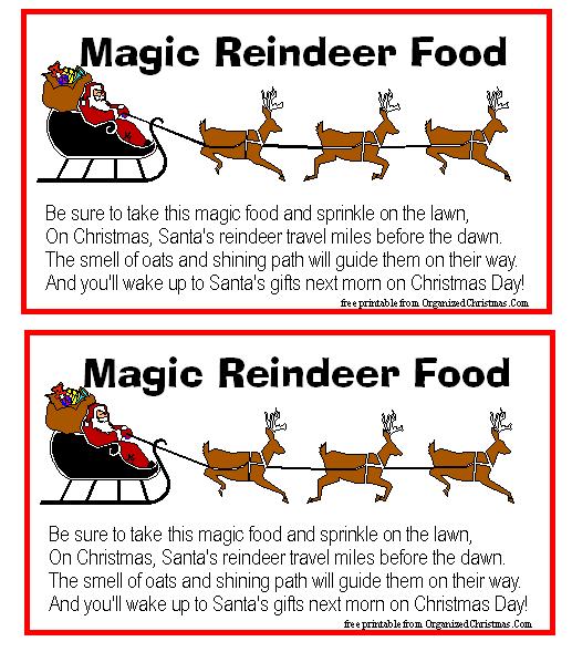 reindeer poems