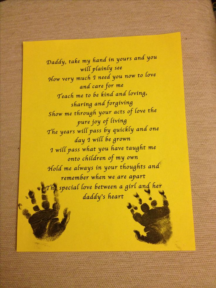 Father To Daughter Poems