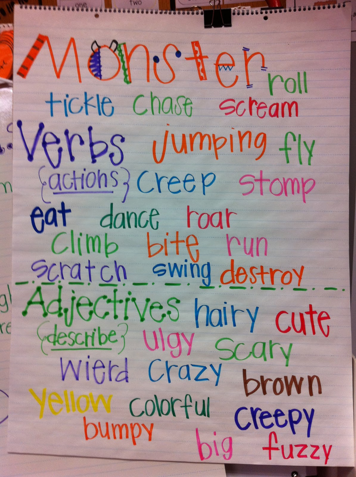 Verb Poems