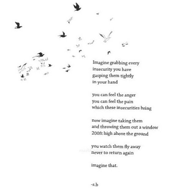 Poems about insecurity in relationships