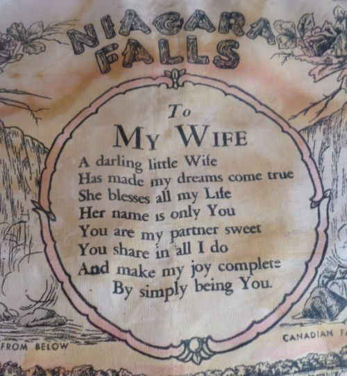 I Love My Wife Poems