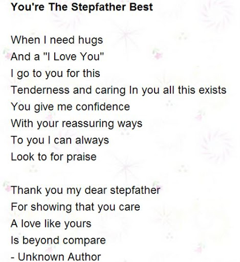 Stepdaughter Poems