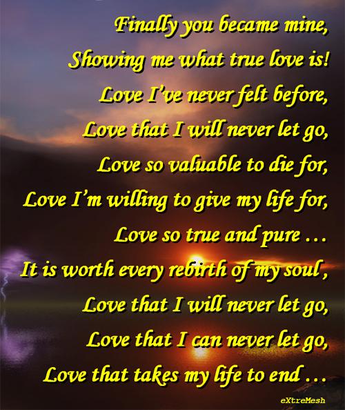Forever Mine Poems