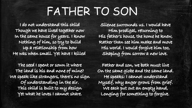 On My First Son