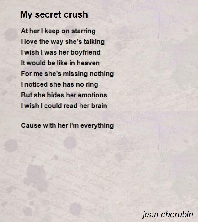 cute poems for crush