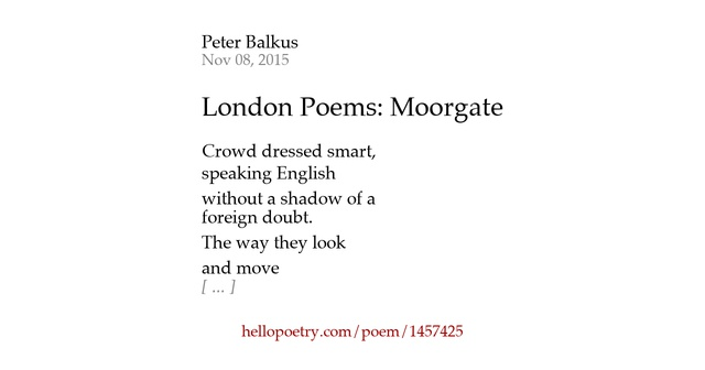 the poem london written by blake In this poem's universe, all this death is the result of war-mongering governments (palace) and corrupt institutions like the church (blackning church), which allow child labor, prostitution, and war.
