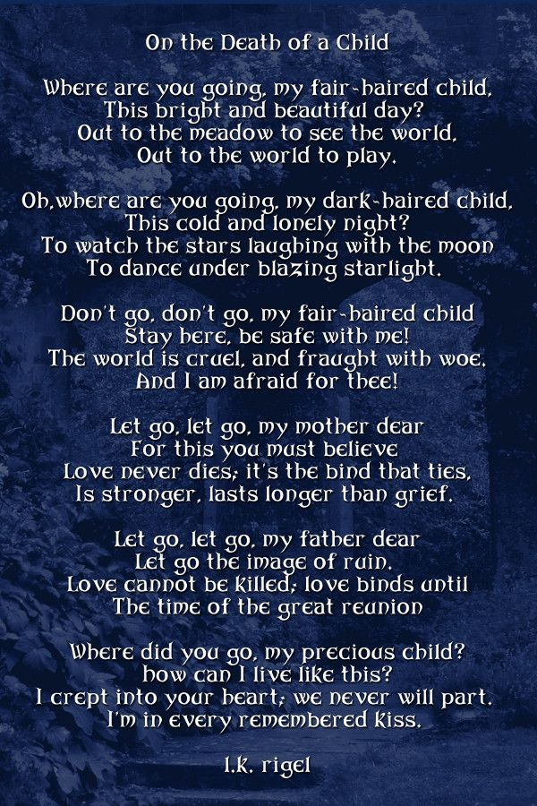 Family Death Poems