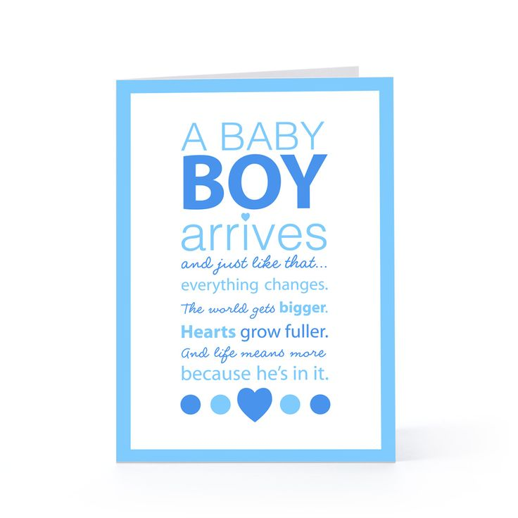 Baby Boy Poems