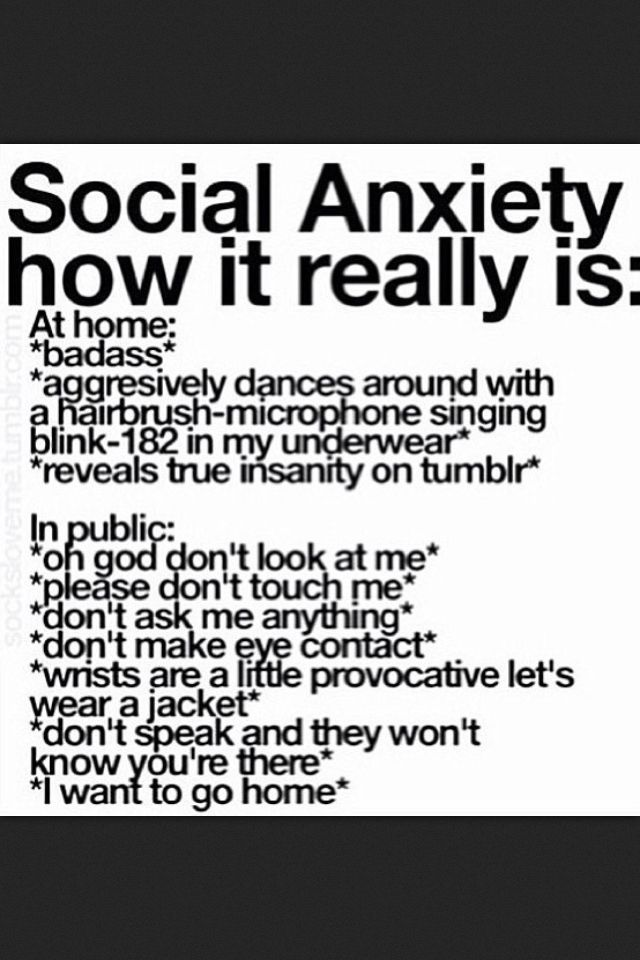 Social Anxiety Poems