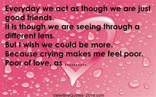 Valentines Friendship Poems Best Valentines Quotes For Friends