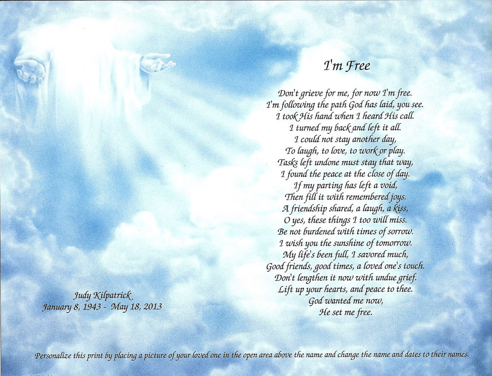 Sister Remembrance Poems