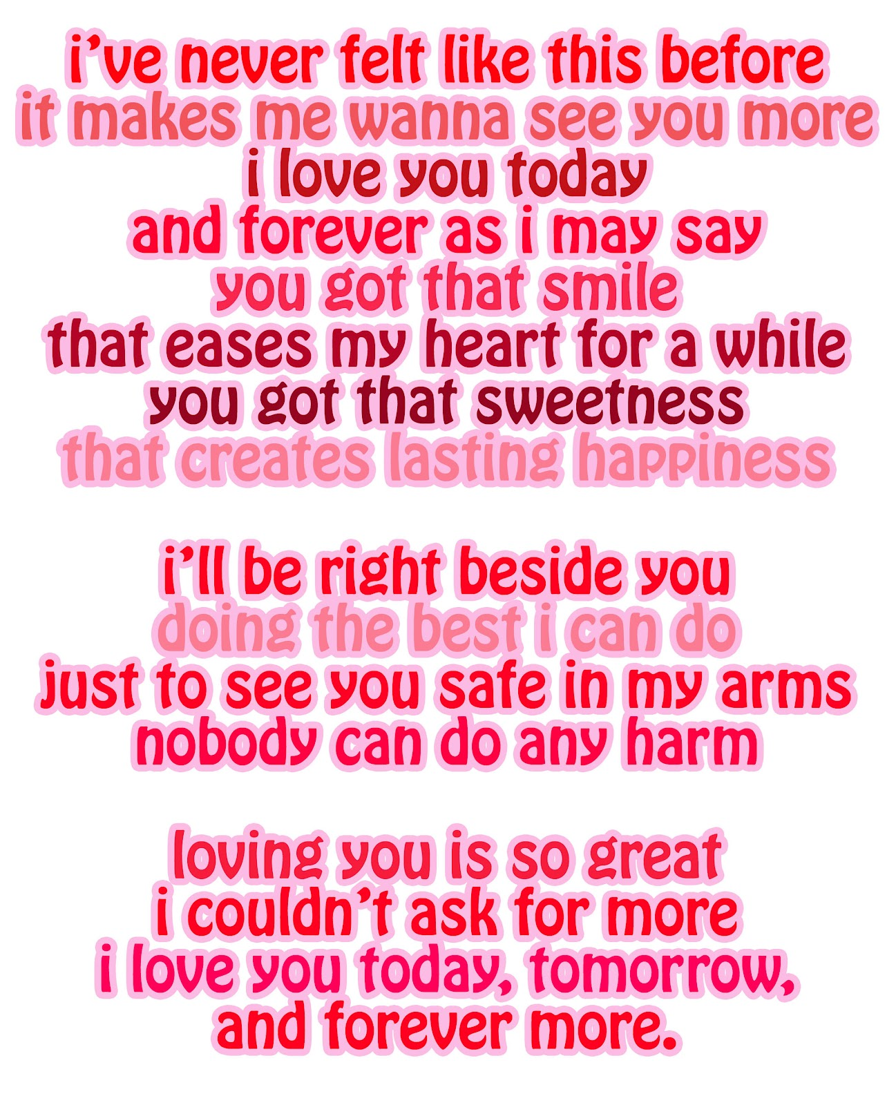 you are my i love you poem