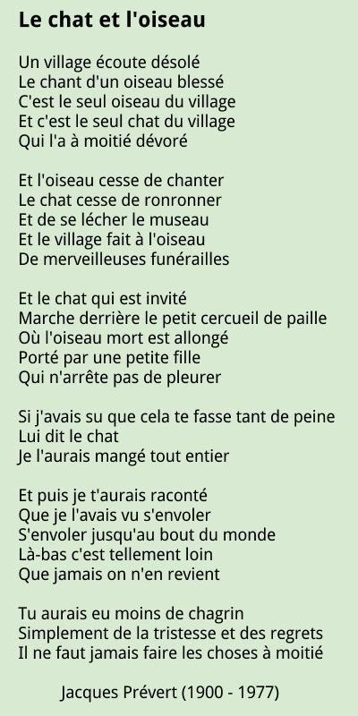 Jacques Prevert Poems