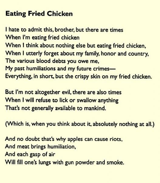Chicken Poems