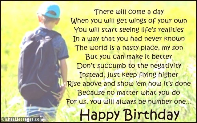 Birthday Quotes For Son From Mom QuotesGram