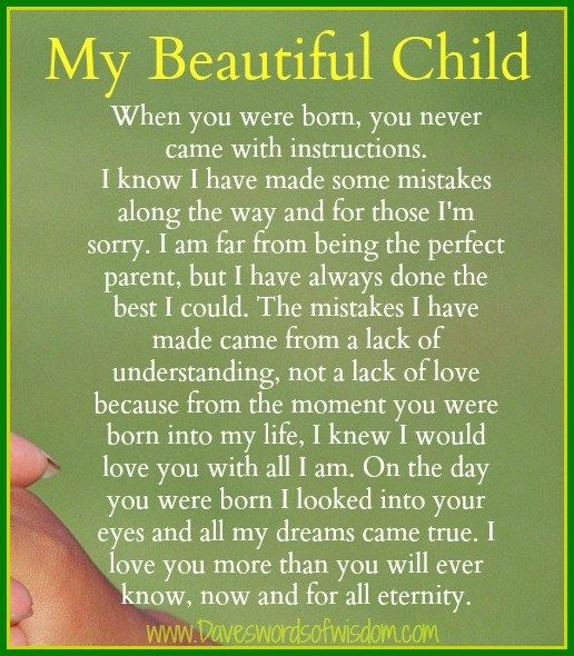 I love you daughter Poems