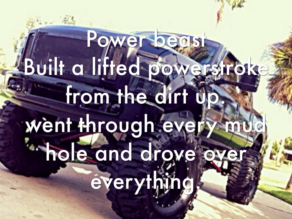 Ford truck Poems |Lifted Truck Poems