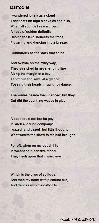 Wordworth Poems