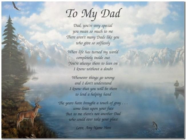 Happy Birthday Dad Poems