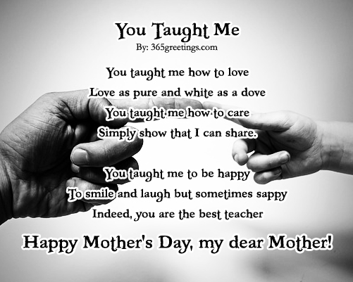 All About Mothers Day Poems Mothers Day Popular Poem Iloveindia