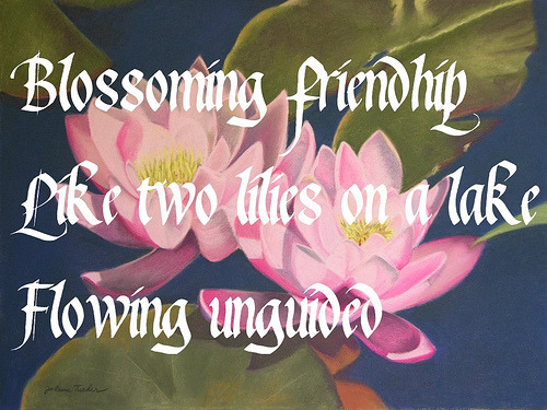 Friendship Haiku Poems