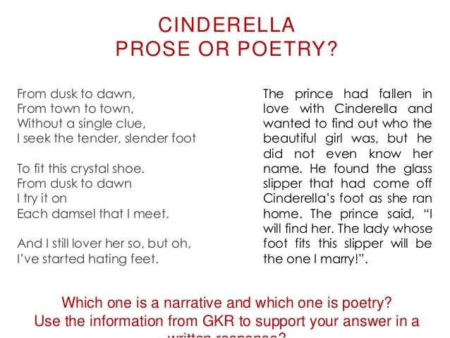 Kinds of poetry with examples.