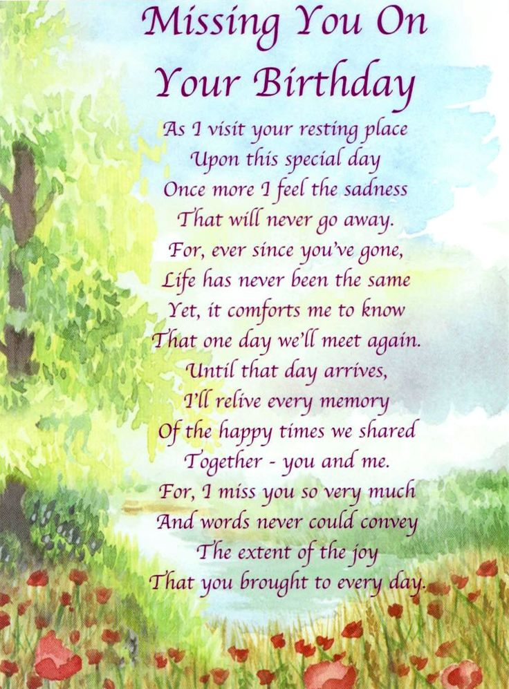 Happy Birthday To My Dad In Heaven Poems