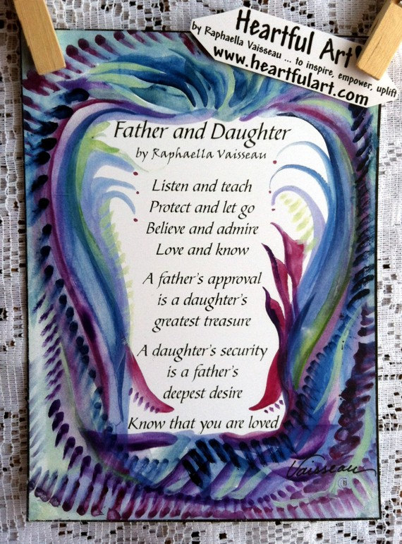 Father daughter Poems