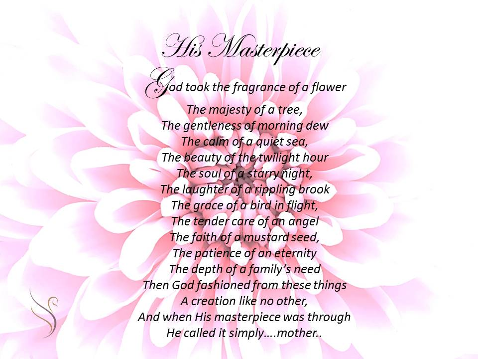 Mother eulogy Poems