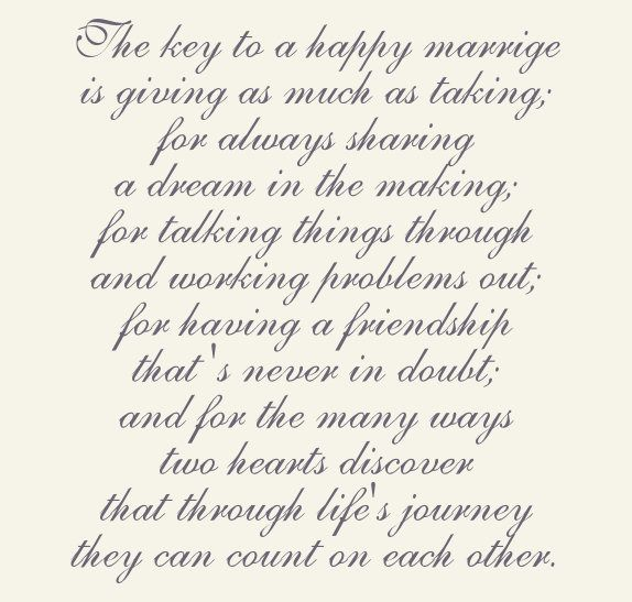 Poetry For Married S Wedding Ideas