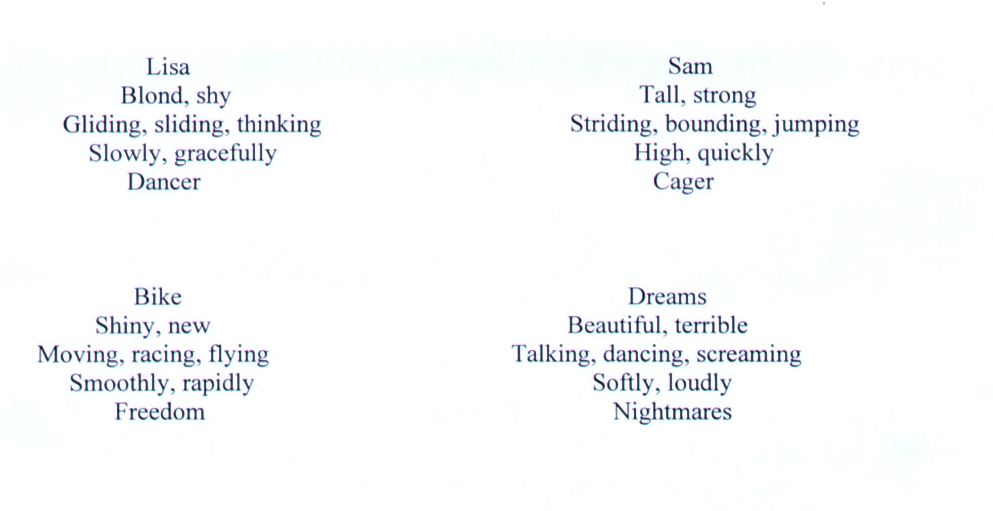 Examples of cinquain poems about basketball spirinnova42's soup.