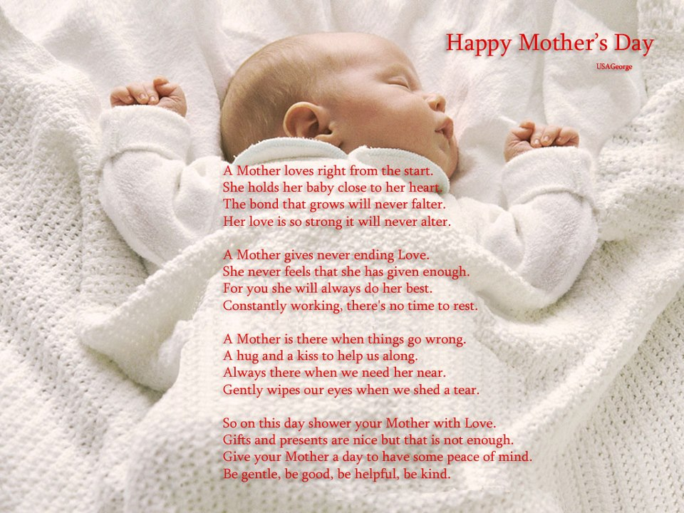 inspirational mothers day poems