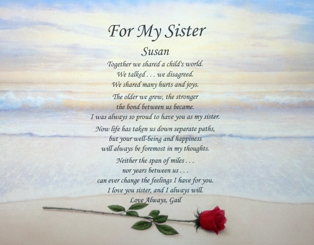Christian Sister Poems