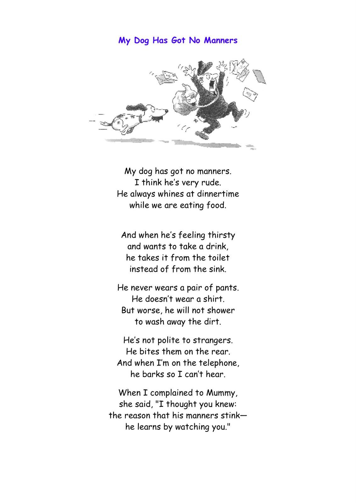 Humurous Poems