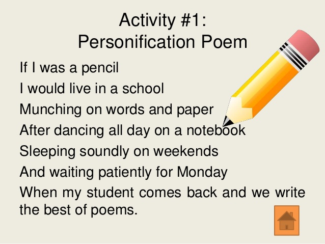 Personifacation Poems