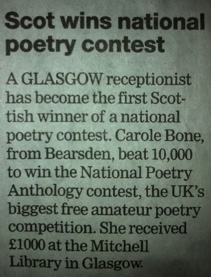 amateur poetry competition The national