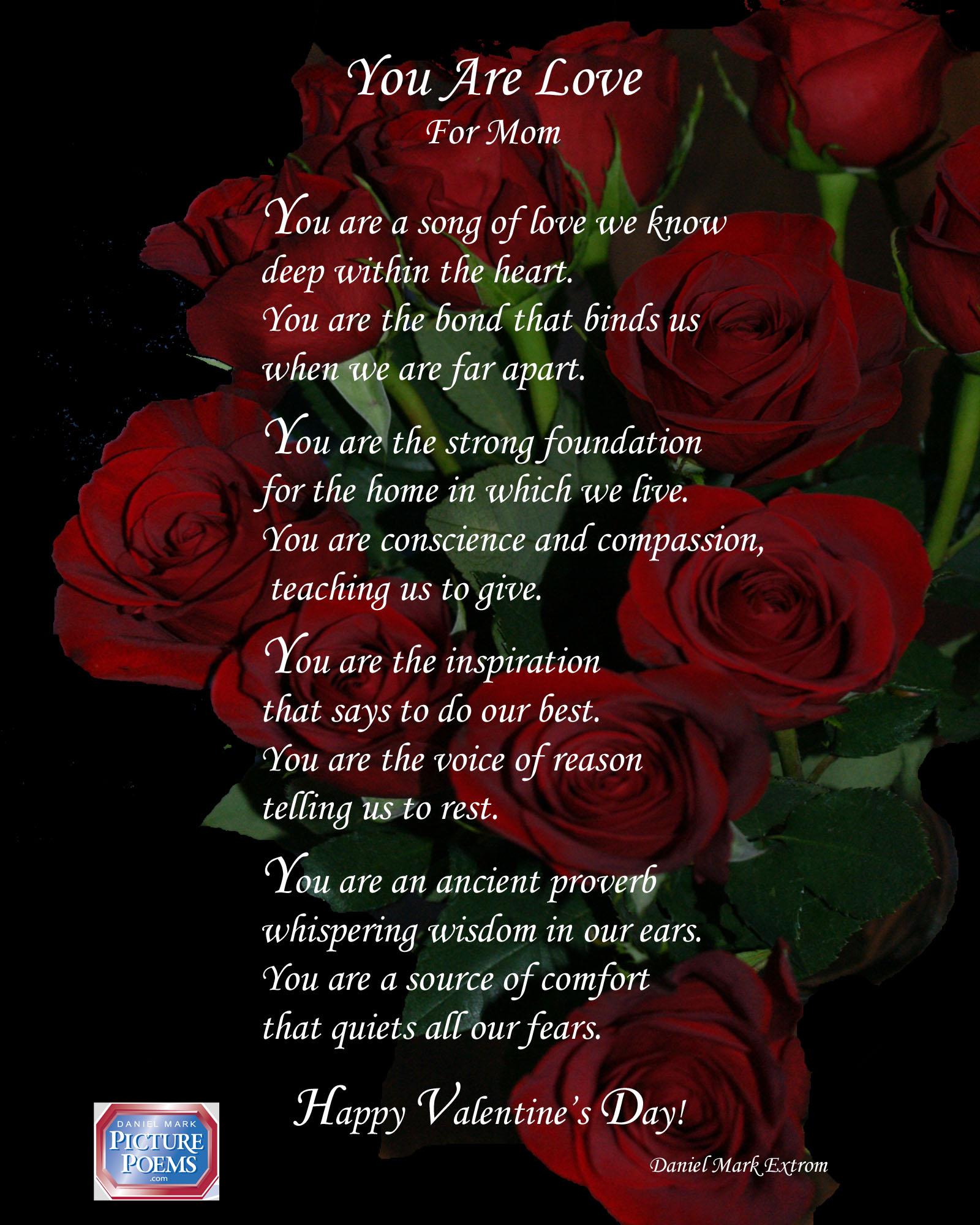 mother valentine poems
