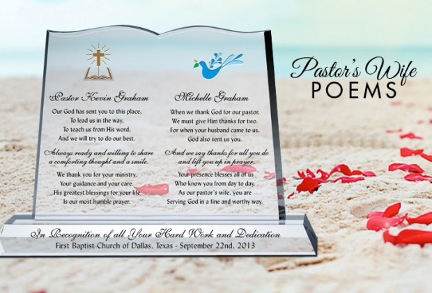 Pastor Wife Appreciation Poems Gifts For Pastors And Their Wives Gift Ideas