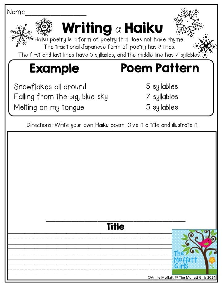 how to write a haiku for kids Write your own haiku write your own haiku a haiku is a traditional japanese poem it has 3 lines that follow a syllable pattern of 5-7-5 most haiku poems are about one simple thing, since the poet has only 3 lines to work with.