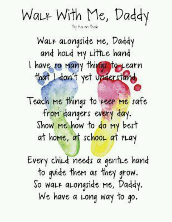 Daddy Daughter Poems
